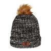Image for Utah Utes Block U Faux Fur Pom Pom Beanie