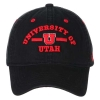 Image for Utah Utes Arched Text Block U Adjustable Hat
