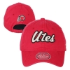 Image for Utah Utes Fuzzy Script Women's Adjustable Hat