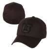 Image for Utah Utes Black Out Block U Zephyr Hat