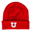 Image for Utah Utes Swoop Block U Logo Youth Beanie