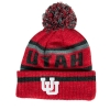 Image for Utah Youth Interlocking U Striped Beanie