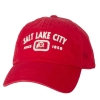 Image for Utah Utes Salt Lake City Arched Adjustable Hat