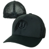 Image for Utah Utes Athletic Logo Blackout Mesh Flex Fit Hat