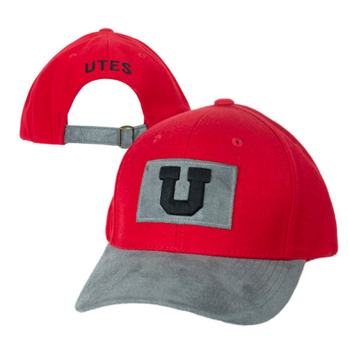 Cover Image For Block U Grey Suede Adjustable Hat