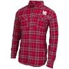 Image for Utah Utes Interlocking U Flannel Collared Shirt