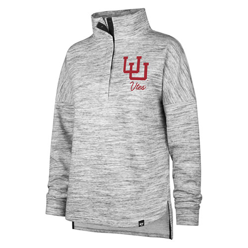 Image For Utah Utes Interlocking U Quarter Snap Women's Pullover