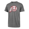 Image for Utah Utes Throwback Athletic Logo '47 Brand T-Shirt