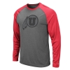 Image for Utah Utes Athletic Logo Two Toned Long Sleeve