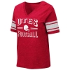 Image for Utah Utes Football Helmet Women's V-Neck T-Shirt
