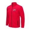 Image for Utah Utes Athletic Logo Red Sweater Full Zip