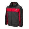 Image for Utah Utes Athletic Logo Tricolor Windbreaker