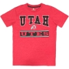 Cover Image for Utah Utes Under Armour Athletic Logo Red Youth Polo Shirt