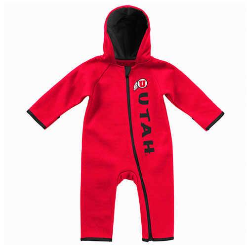 Image For Utah Utes Colosseum Infant Thermal Romper