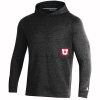 Image for Utah Under Armour Sideline Block U Hoodie