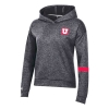 Image for Utah Utes Women's Block U Sideline Under Armour Hoodie