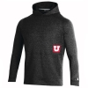 Image for Utah Under Armour Youth Sideline Block U Hoodie