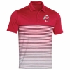 Cover Image for Utah Utes Under Armour Sideline Athletic Logo Stripe Polo