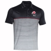 Image for Utah Utes Under Armour Sideline Athletic Logo Stripe Polo