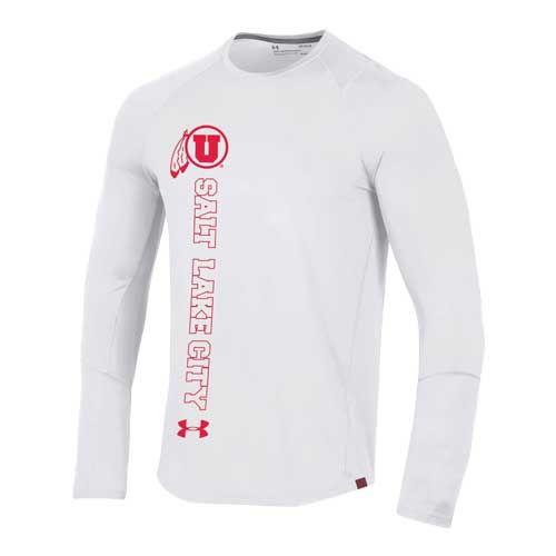 Image For Utah Utes Under Armour 2019 Sideline Long Sleeve Tee