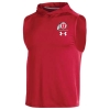 Image for Utah Utes Under Armour 2019 Sideline Hooded Tank Top