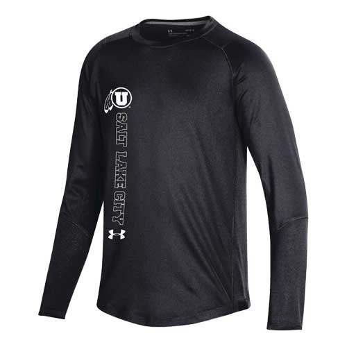Image For Utah Utes Under Armour 2019 Sideline Youth Longsleeve Tee