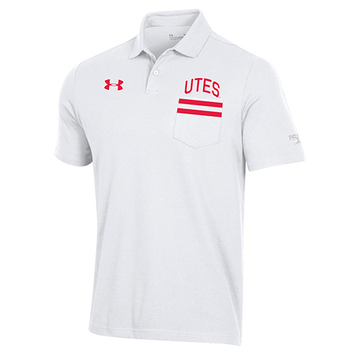 Image For Utah Utes Under Armour 150 Years Polo