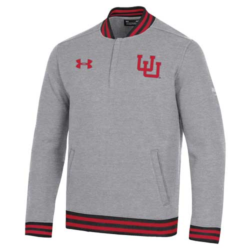 Image For Utah Utes Under Armour 150 Years Quarter Zip