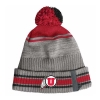 Image for Utah Utes Under Armour Sideline Tricolor Beanie