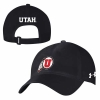 Cover Image for Utah Utes Under Armour Athletic Logo Sideline Black Visor