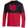 Image for Utah Utes Under Armour Interlocking U Longsleeve Tee
