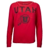 Image for Utah Utes Under Armour Distressed Women's Jersey Shirt
