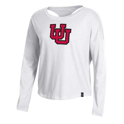 Image For Utah Utes Womens Under Armour Halter Long Sleeve