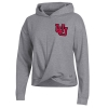 Image for Utah Utes Under Armour Women's Interlocking U Wrap Hoodie