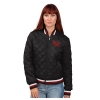 Image for Utah Utes Women's Interlocking U Quilted Bomber Jacket