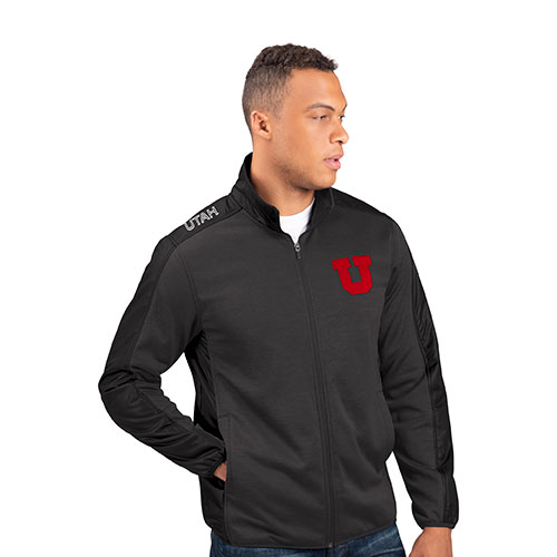 Image For Utah Utes Block U Two-Tone Jacket