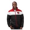 Image for Utah Utes Interlocking U Tricolor Puffer Jacket