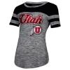 Image for Utah Utes Athletic Logo Glitter Women's T-Shirt