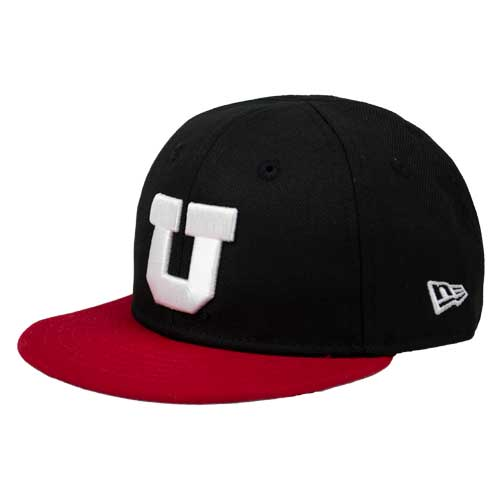 Image For Utah Utes Block U Infant Snapback Hat