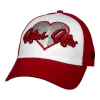 Image for Utah Utes Youth Two Toned New Era Sparkled Heart Hat