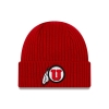 Image for Utah Utes Athletic Logo New Era Cuff Beanie