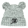 Image for Utah Utes Athletic Logo Youth Double Pom Pom Beanie