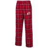 Image for Utah Utes Plaid Pajama Pants with Athletic Logo