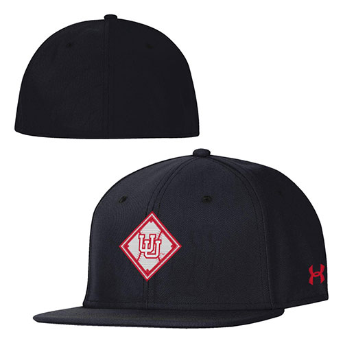 Image For Utah Utes Baseball Diamond Under Armour Fitted Hat
