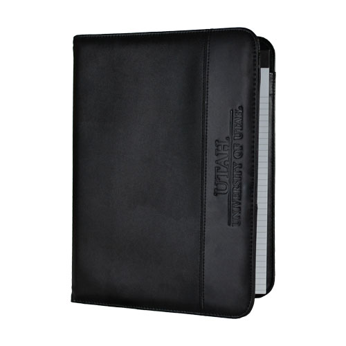 Image For LEATHER TRIM PADFOLIO BLK