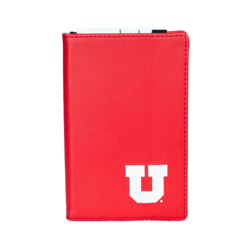 Image For Utah Utes Block U Hardbound Pocket Journal
