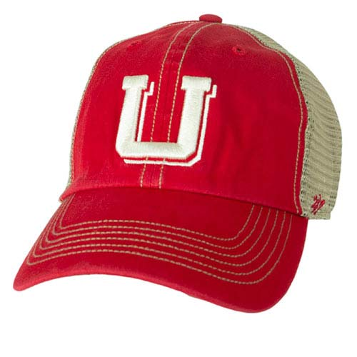 Cover Image For Vintage UU Logo Adjustable Mesh Hat