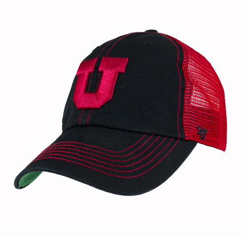 Image For Utah Utes Mesh '47 Block U Hat