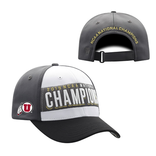 Image For Utah Utes 2019 NCAA National Skiing Champions Hat