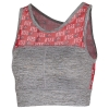 Image for Utah Utes Athletic Logo Pattern ZooZats Sports Bra